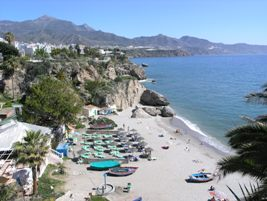 New Nerja Tourist Train - Spain Away