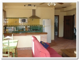 View to kitchen in Jazmin